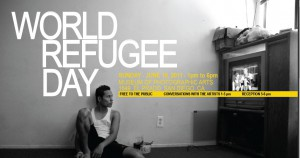World Refugee Day banner